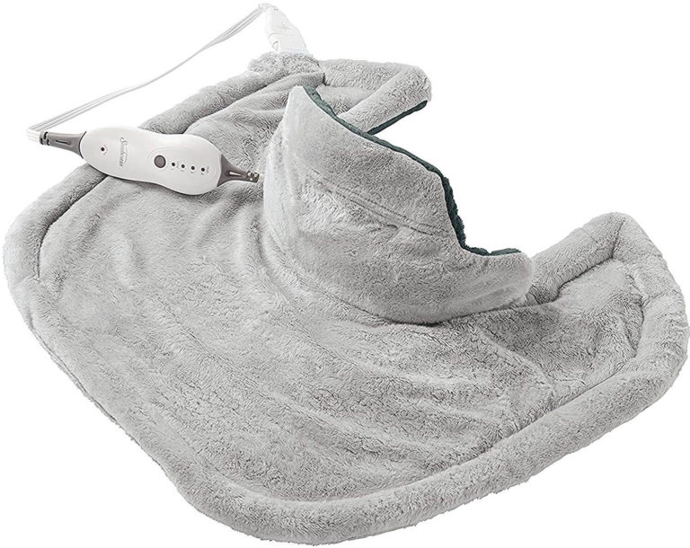 Heating pad for neck and shoulder relief