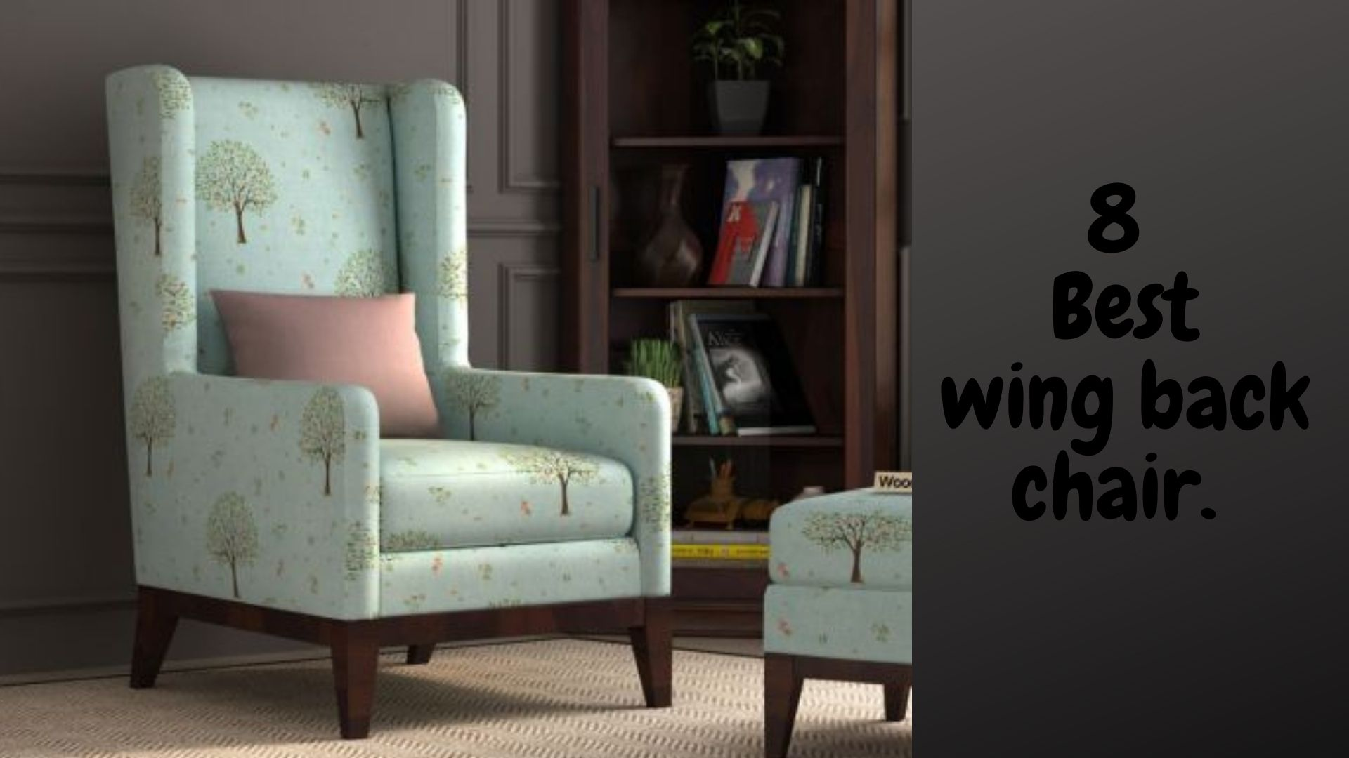 Best 8 wing back chair